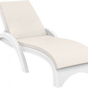 Moderni jastuk za ležaljku Fiji jednostavnog dizajna,udoban , bež boje - online shop - Commodo Home & Living