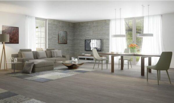 Moderna Trpezarijska Stolica Maino klasičnog dizajna, udobna,svijetlo sive boje - online shop - Commodo Home & Living
