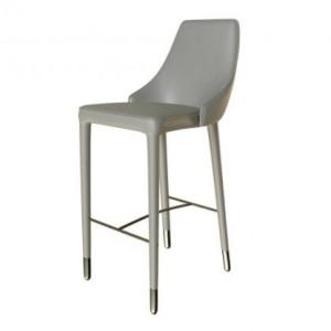 Moderna Barska Stolica Maino klasičnog dizajna, udobna,svijetlo sive boje - online shop - Commodo Home & Living