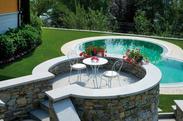 Moderni Sto za baštu - Peschiera klasičnog dizajna,kvalitetan , bijele boje - online shop - Commodo Home & Living