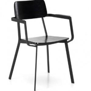 Moderna Stolica Woody klasičnog dizajna, kvalitetna,crne boje - online shop - Commodo Home & Living