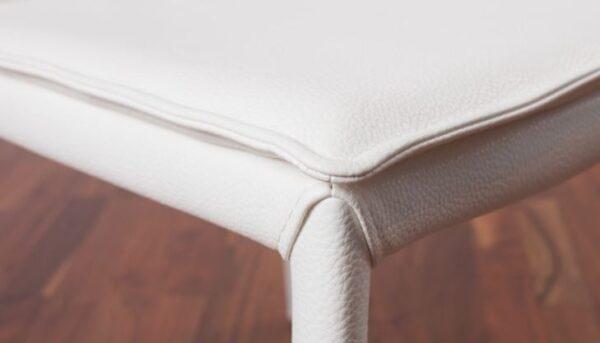 Moderna Trpezarijska Stolica Torano modernog dizajna, kvalitetna,bijele boje - online shop - Commodo Home & Living