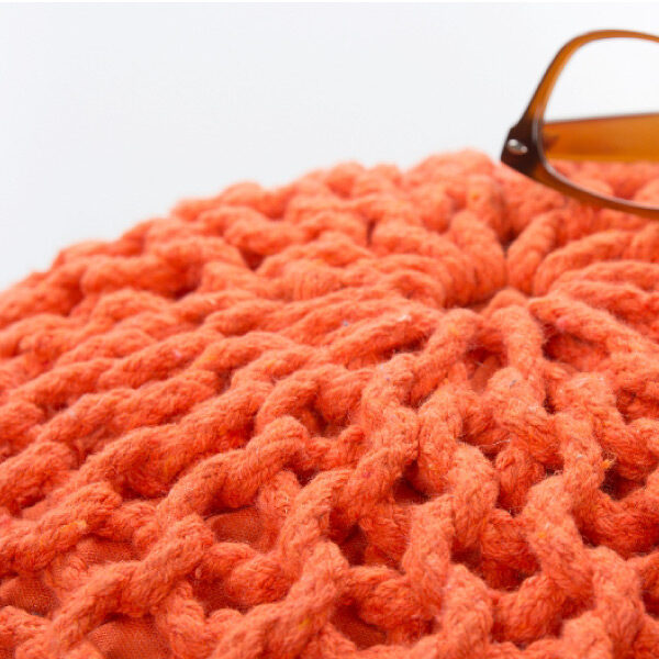 Moderni Tabure My COOL POUF – Orange modernog dizajna, udoban , narandzaste boje - online shop - Commodo Home & Living
