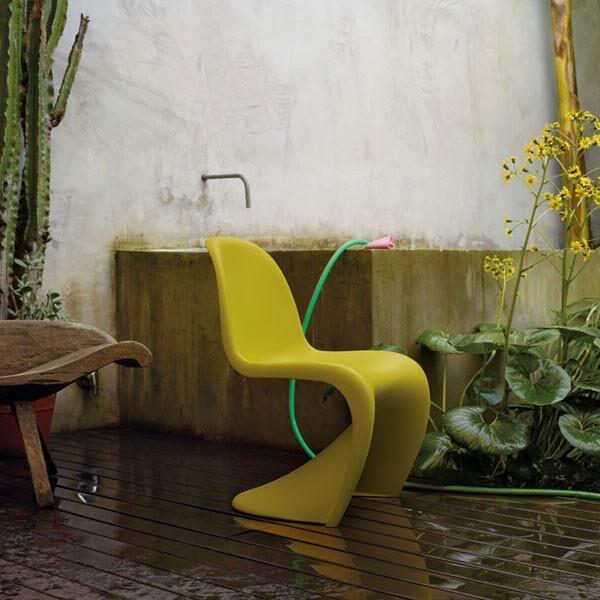 Moderna Stolica Vitra Panton modernog dizajna, udobna , zelene boje - online shop - Commodo Home & Living