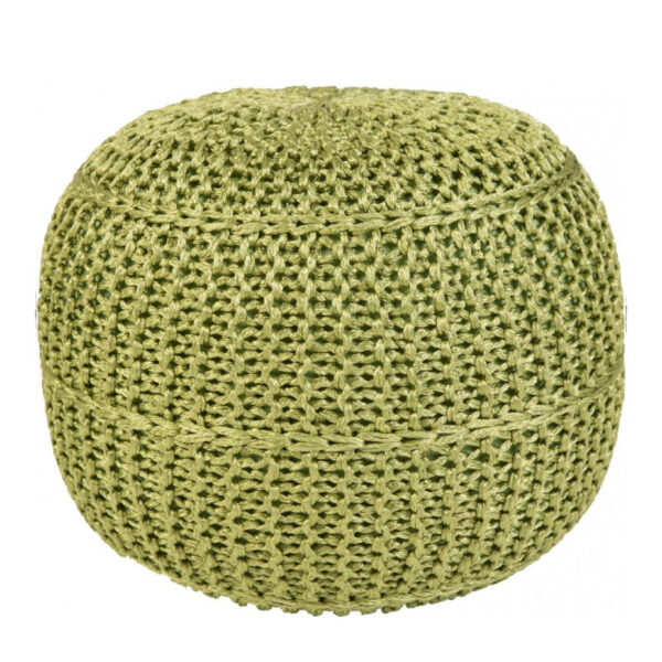Moderni Tabure My POUF EXO – Taupe modernog dizajna, udoban , zelene boje - online shop - Commodo Home & Living