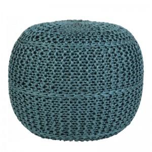 Moderni Tabure My POUF EXO – Taupe modernog dizajna, udoban , plave boje - online shop - Commodo Home & Living